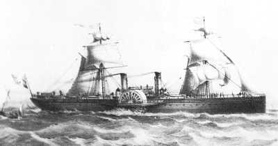 Vos paquebots préférés de la Transat Imperatrice-eugenie-1864-s