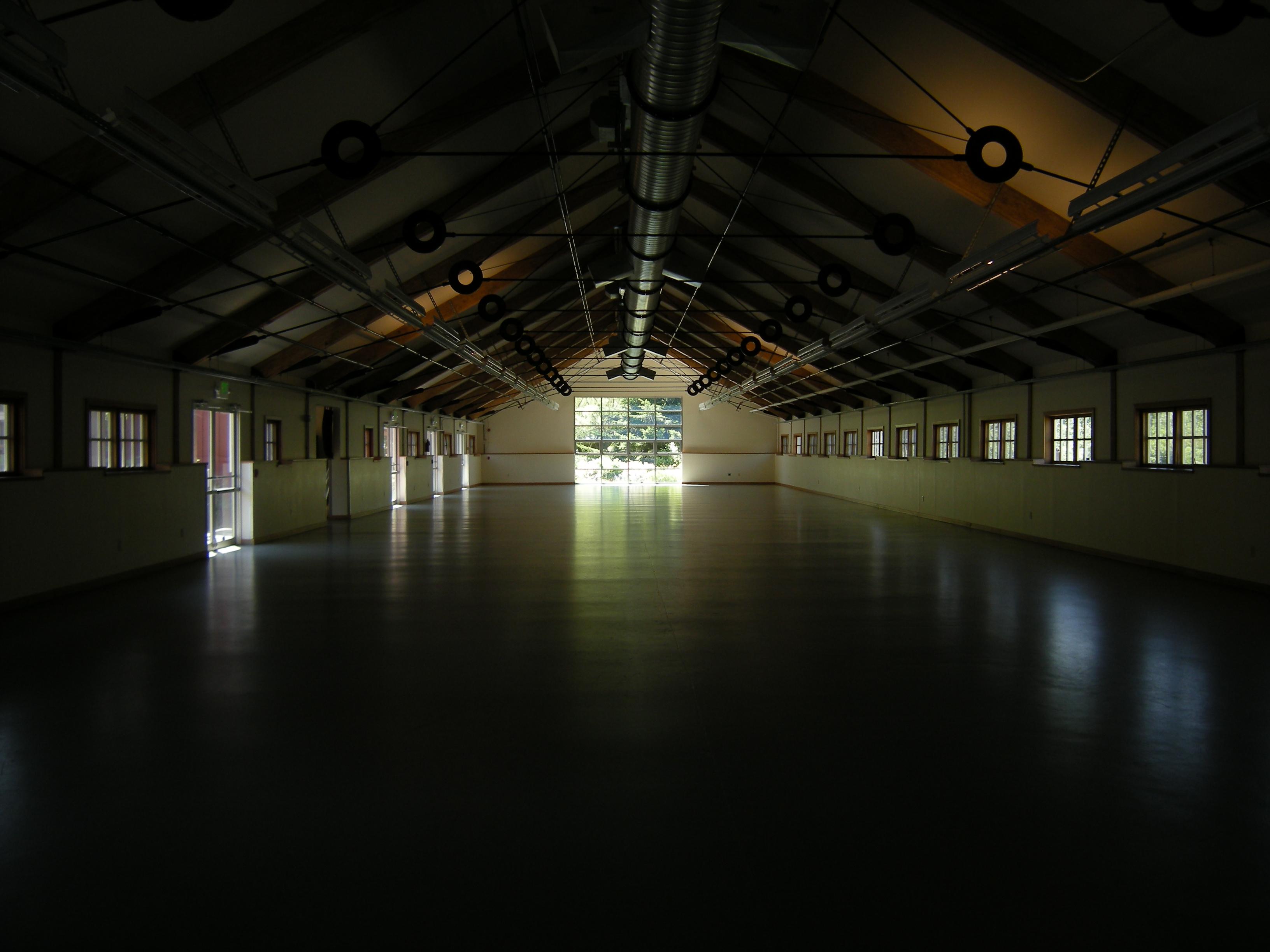 Inside Barn
