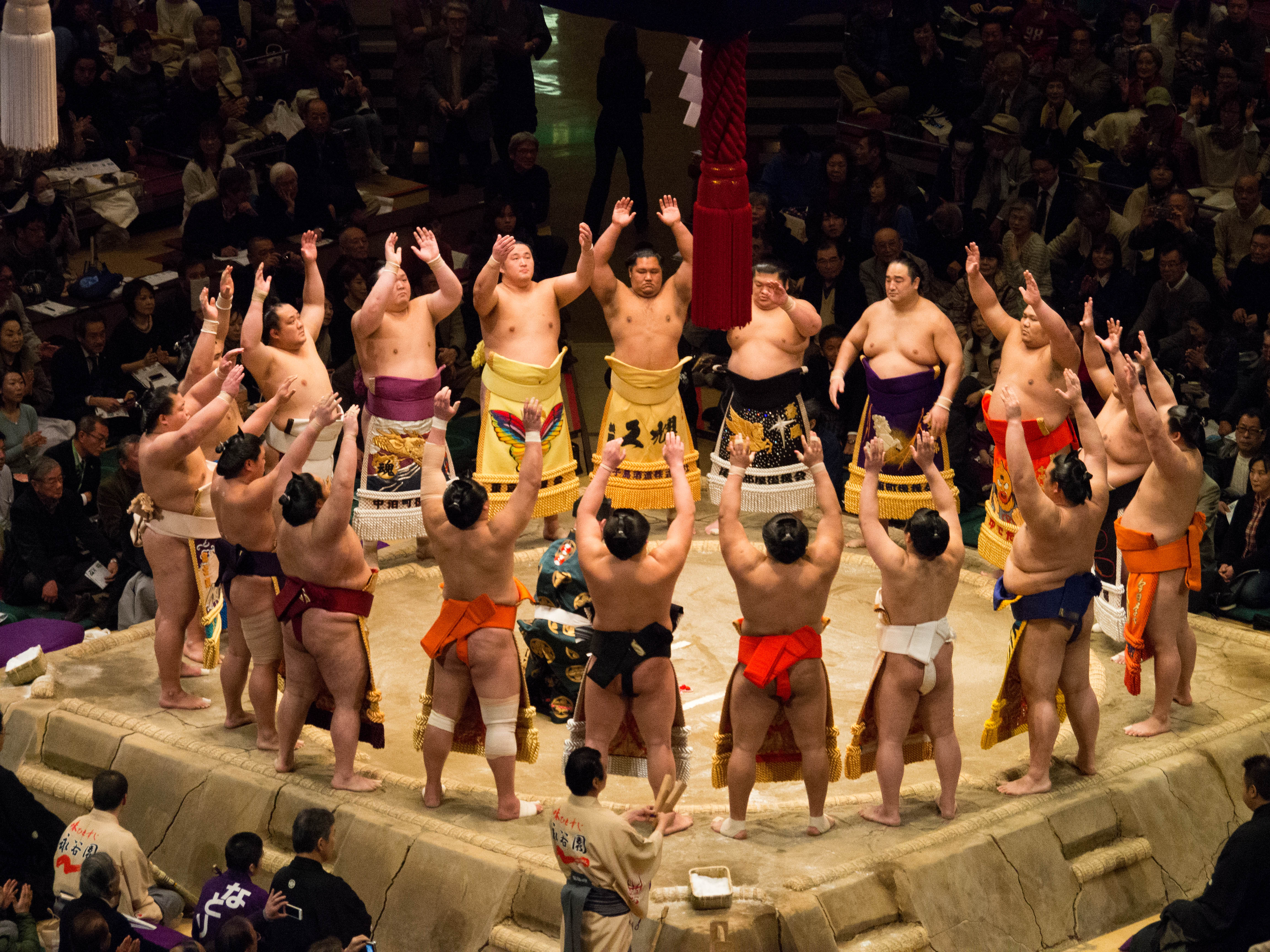January 2014 sumo tournament dohy%c5%8d iri