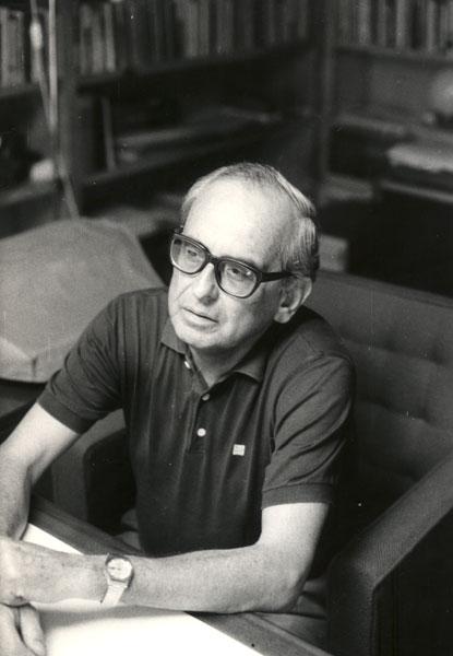 Javier Mariátegui photographed by Servais Thissen