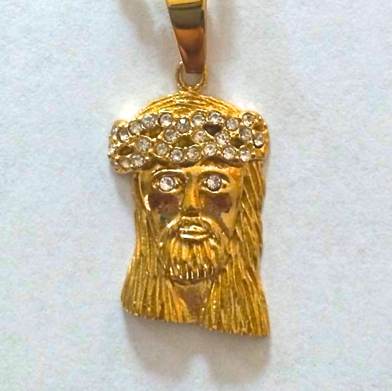 Jesus piece jewelry wikipedia aloadofball Choice Image