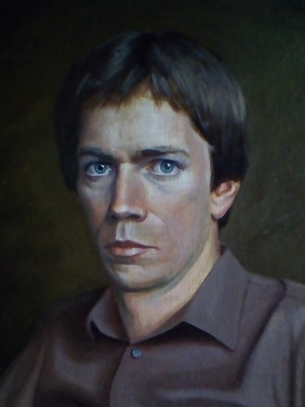 Broughton portrait painted in 1983