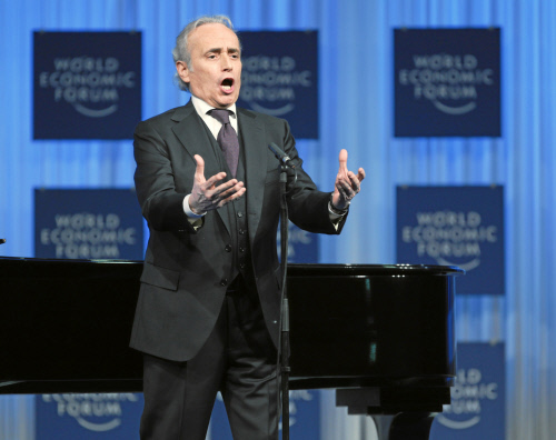 Jose Carreras - World Economic Forum Annual Meeting 2011