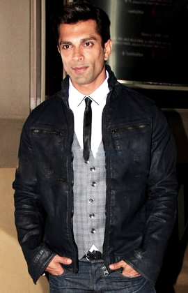 The 36-year old son of father (?) and mother(?) Karan Singh Grover in 2018 photo. Karan Singh Grover earned a  million dollar salary - leaving the net worth at 2 million in 2018