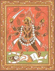 liste scenarios Kali