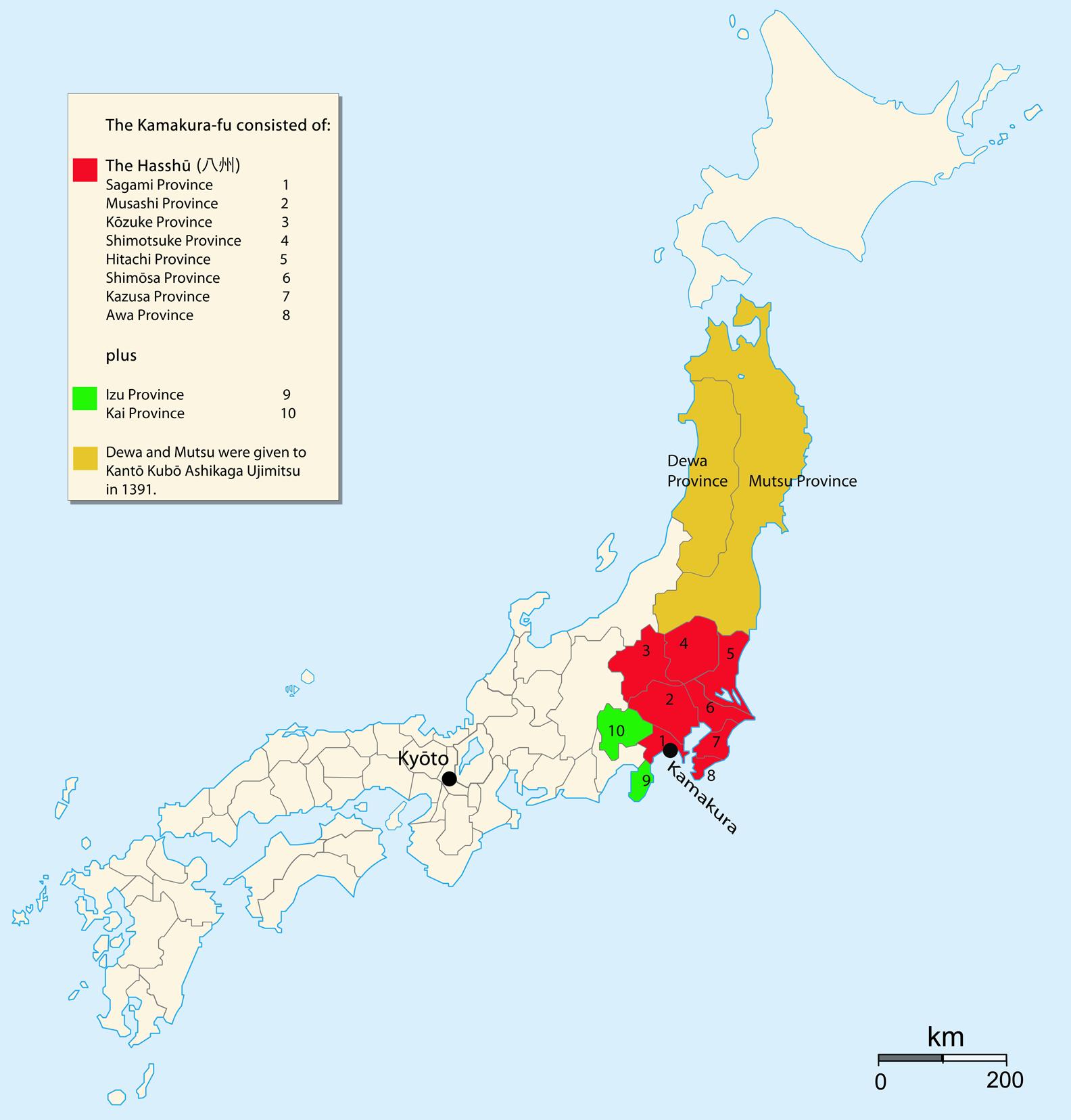 Japan Map Kamakura