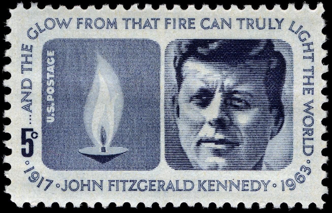 FileKennedy Memorial 5c 1964 Issue US Stamp