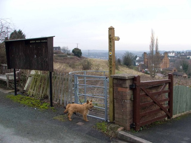 Kissing Gate, Benthall - geograph.org.uk - 1141544