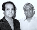 Laxmikant (left) - Pyarelal (right)