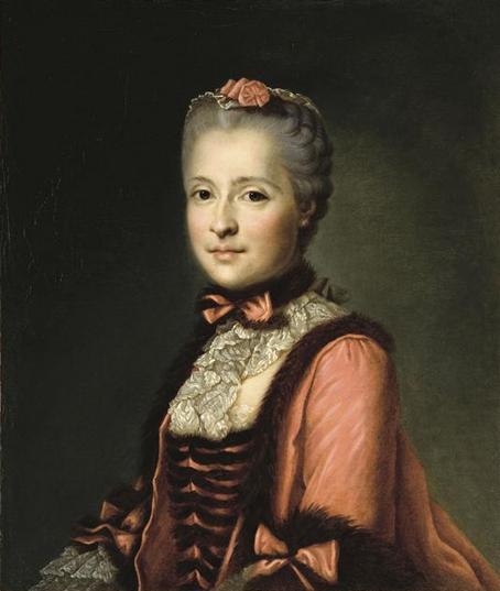 La Princesse Marie-Josèphe de Saxe (1731-1767), mère de Louis XVI, anonyme, d'après un portrait de Jean-Baptiste Greuze.jpg