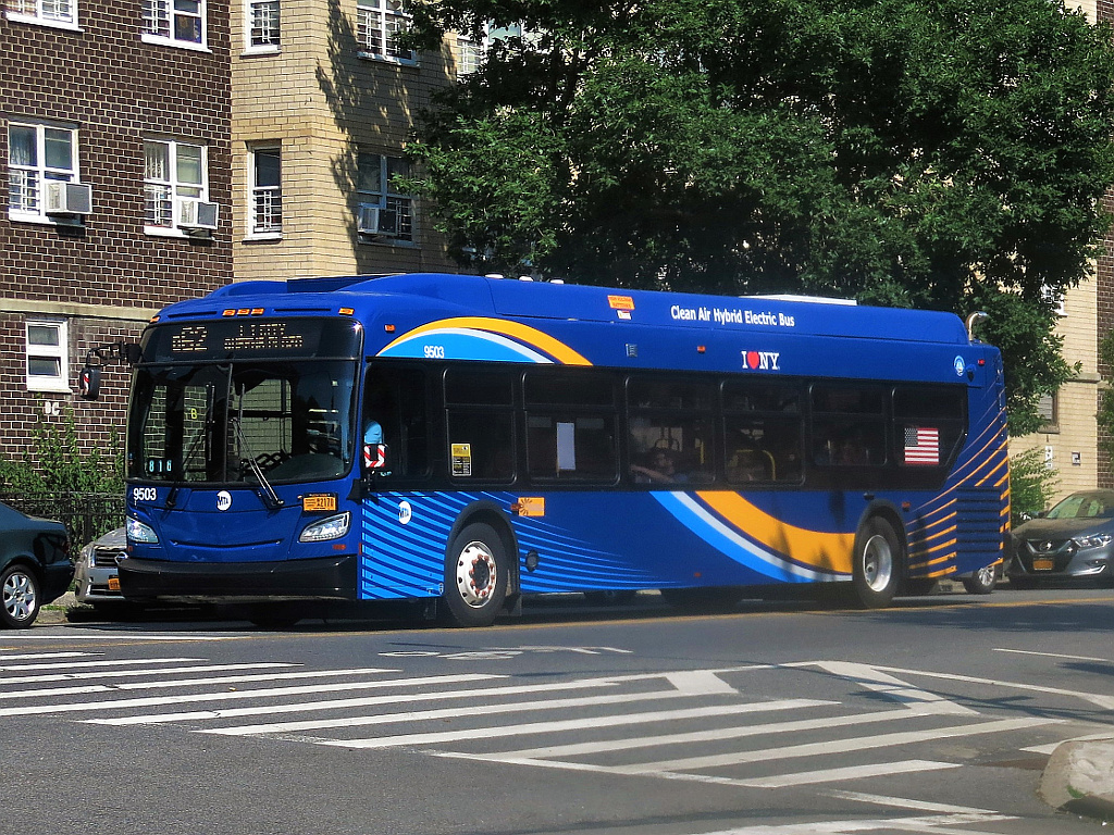 File:MTA New York City Bus New Flyer Xcelsior XDE40 9503 on the B62.