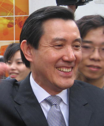 Ma Ying-jeou, the current ROC President and chairman of the Kuomintang.
