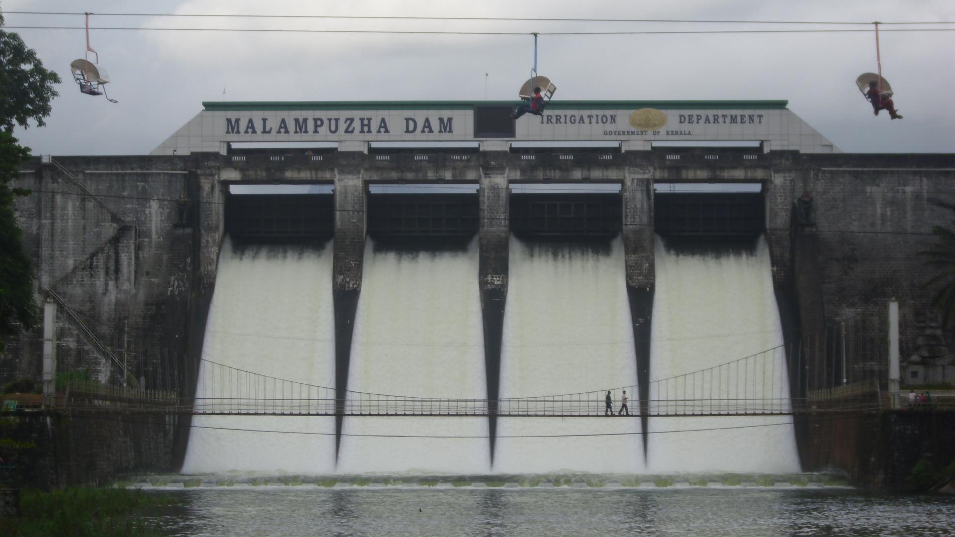 A click of Malampuzha Dam