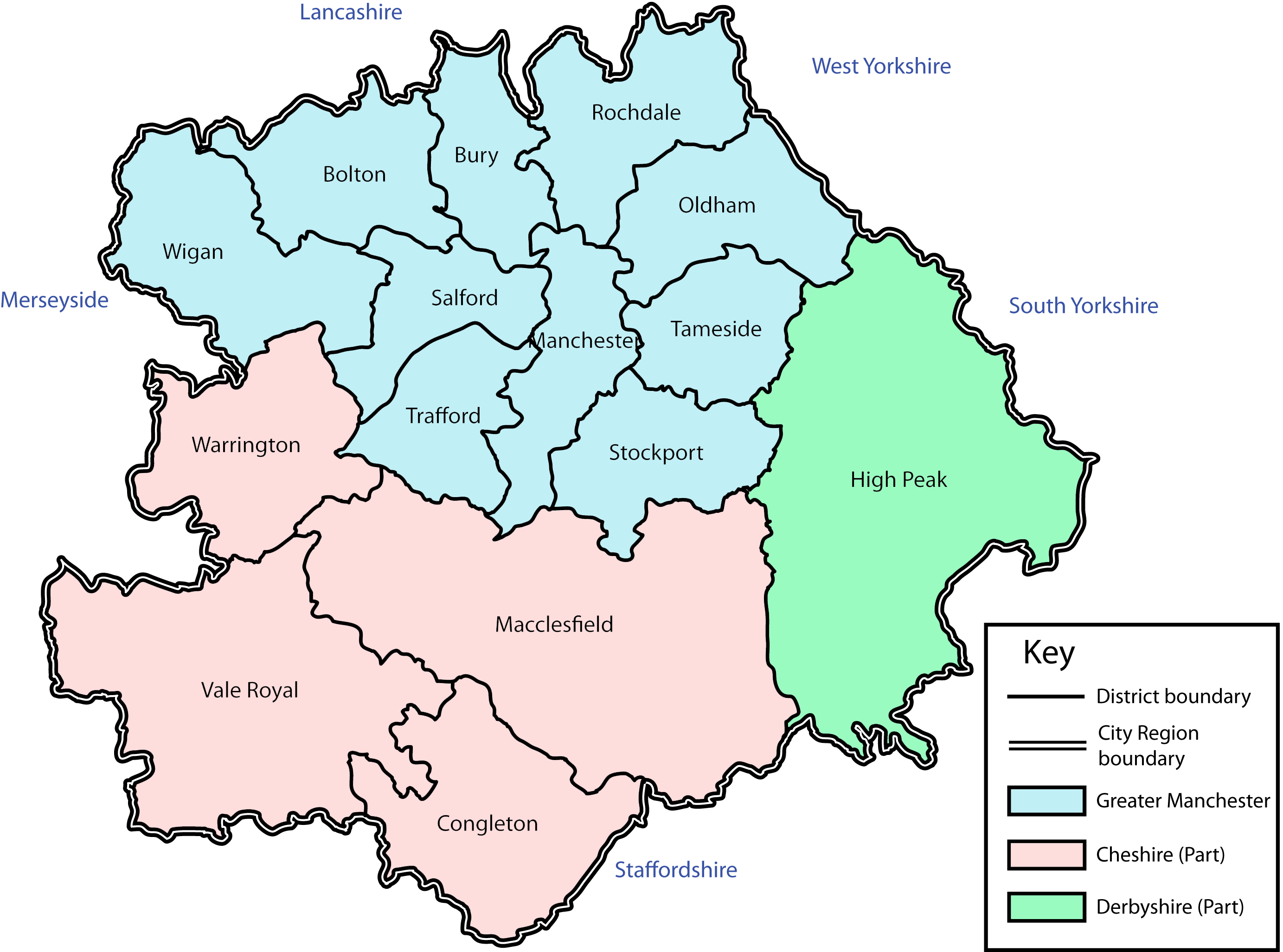 Manchester City Map File:Manchester City Region.png   Wikimedia Commons