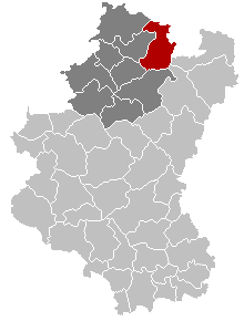 Manhay Luxembourg Belgium Map.png