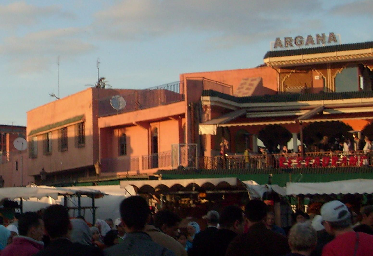 Marrakech square check out marrakech square cntravel for Argana moroccan cuisine