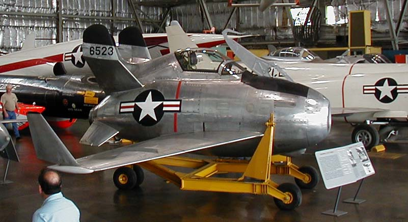 McDonnell XF-85 Goblin on display at the USAF Museum at Wright-Patterson AFB in Dayton, OH.