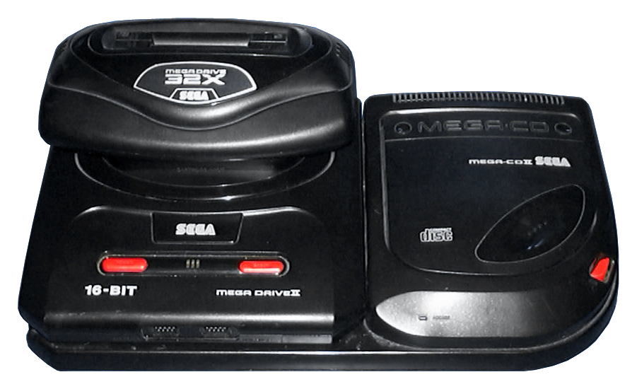 File Mega Drive Ii Pal Mega Cd Ii Pal 32x Pal