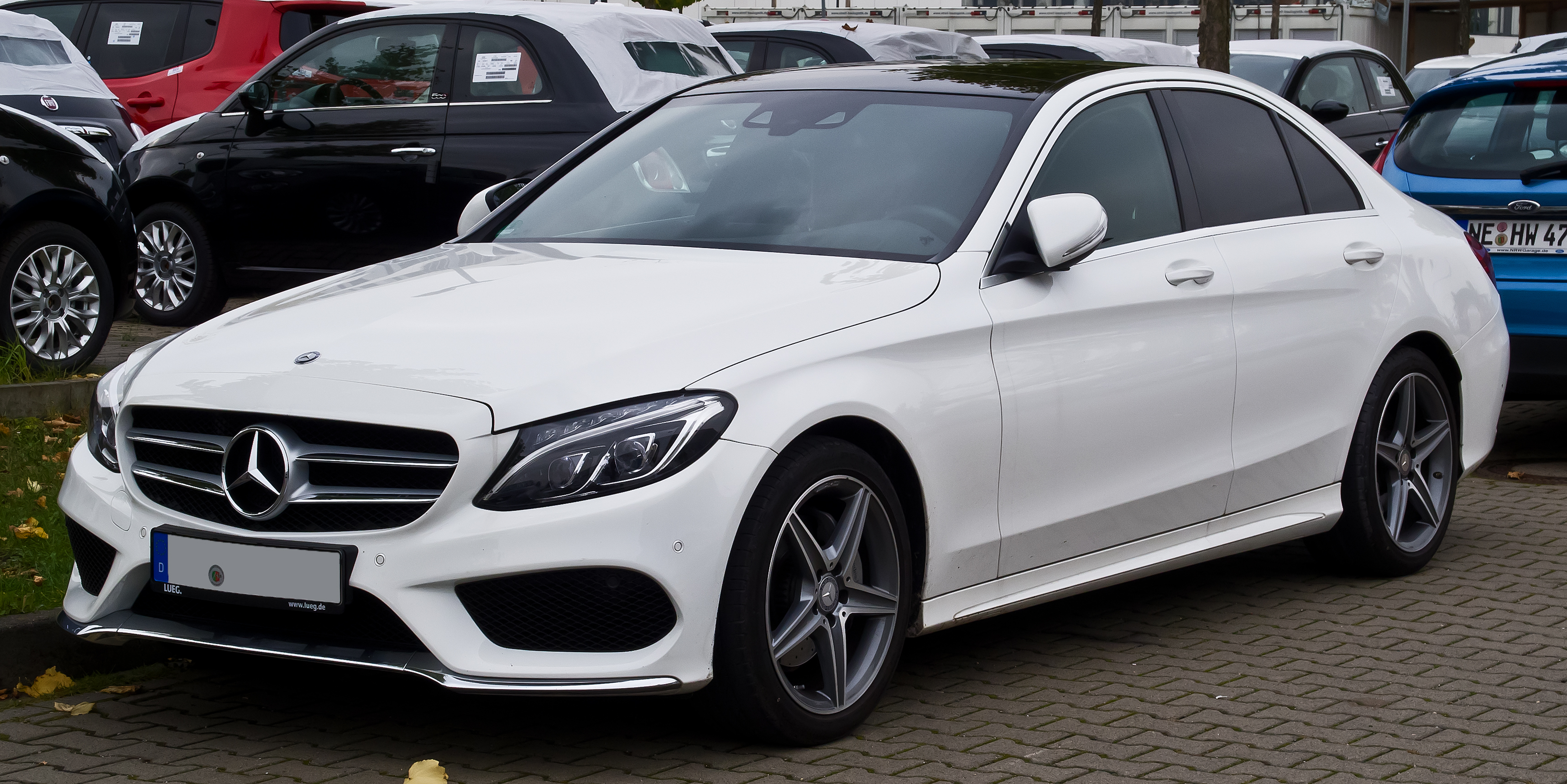 File Mercedes Benz C 220 Bluetec Amg Line W 205