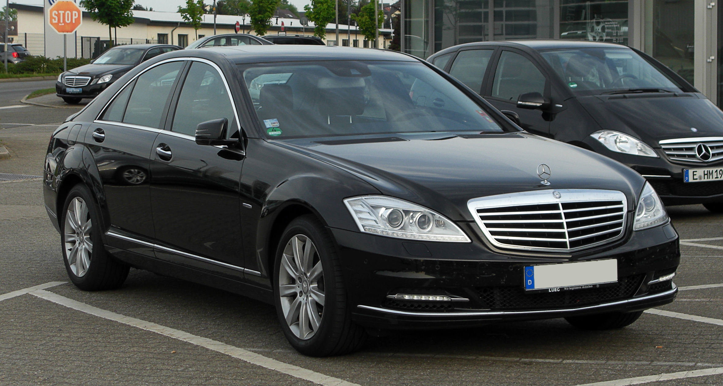 file mercedes benz s 350 cdi blueefficiency 4matic w 221 facelift frontansicht 6 mai 2011. Black Bedroom Furniture Sets. Home Design Ideas