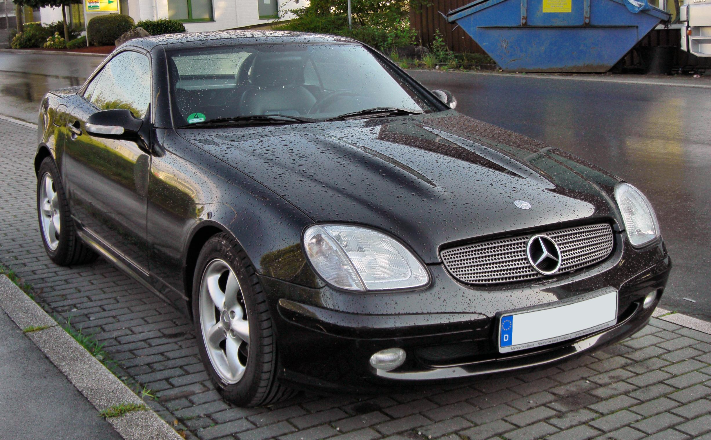 file mercedes slk 320 facelift 20090904 front jpg wikimedia commons. Black Bedroom Furniture Sets. Home Design Ideas