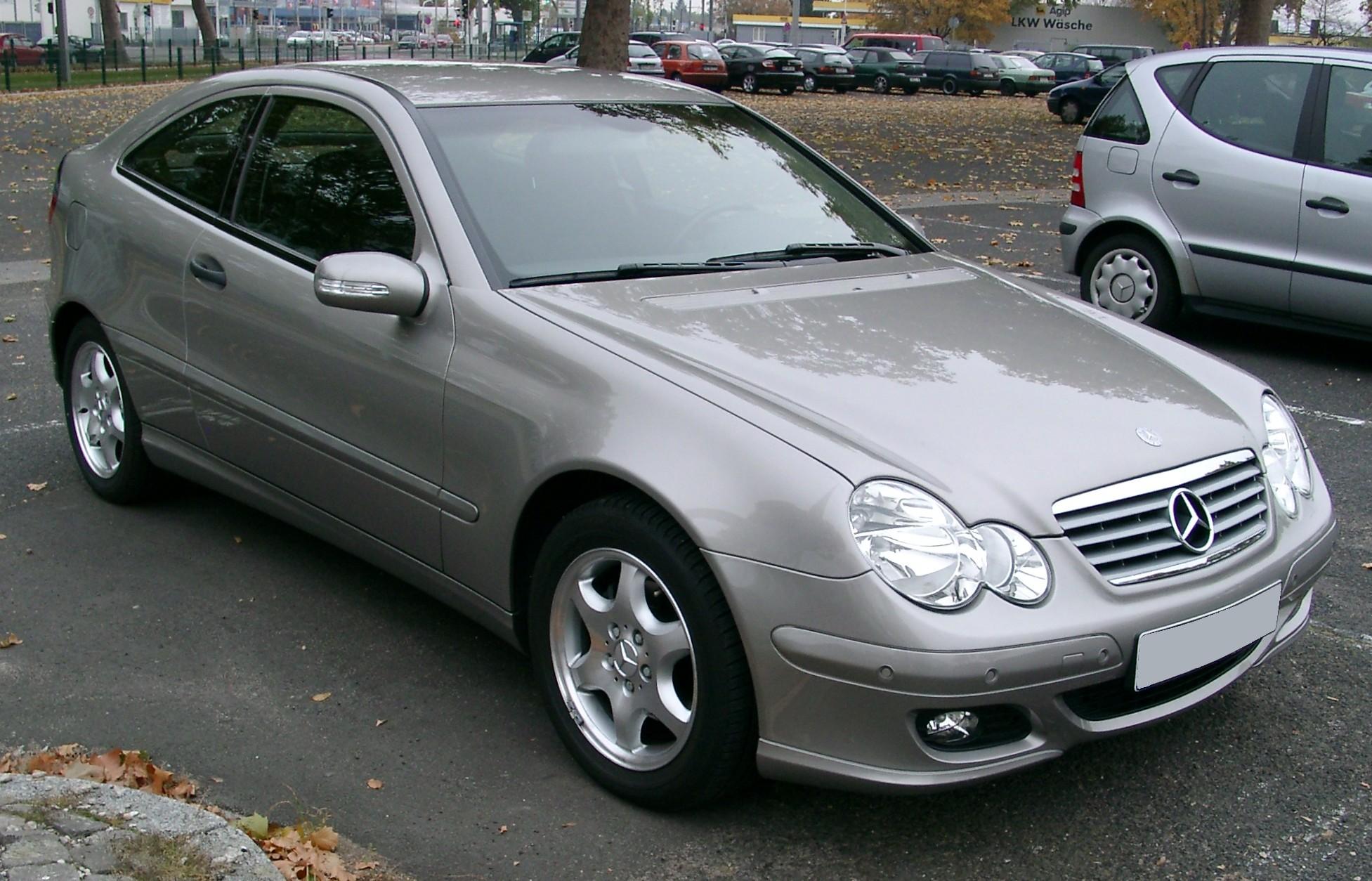 Mercedes Benz Classe C Clc Type 203 Wikipedia