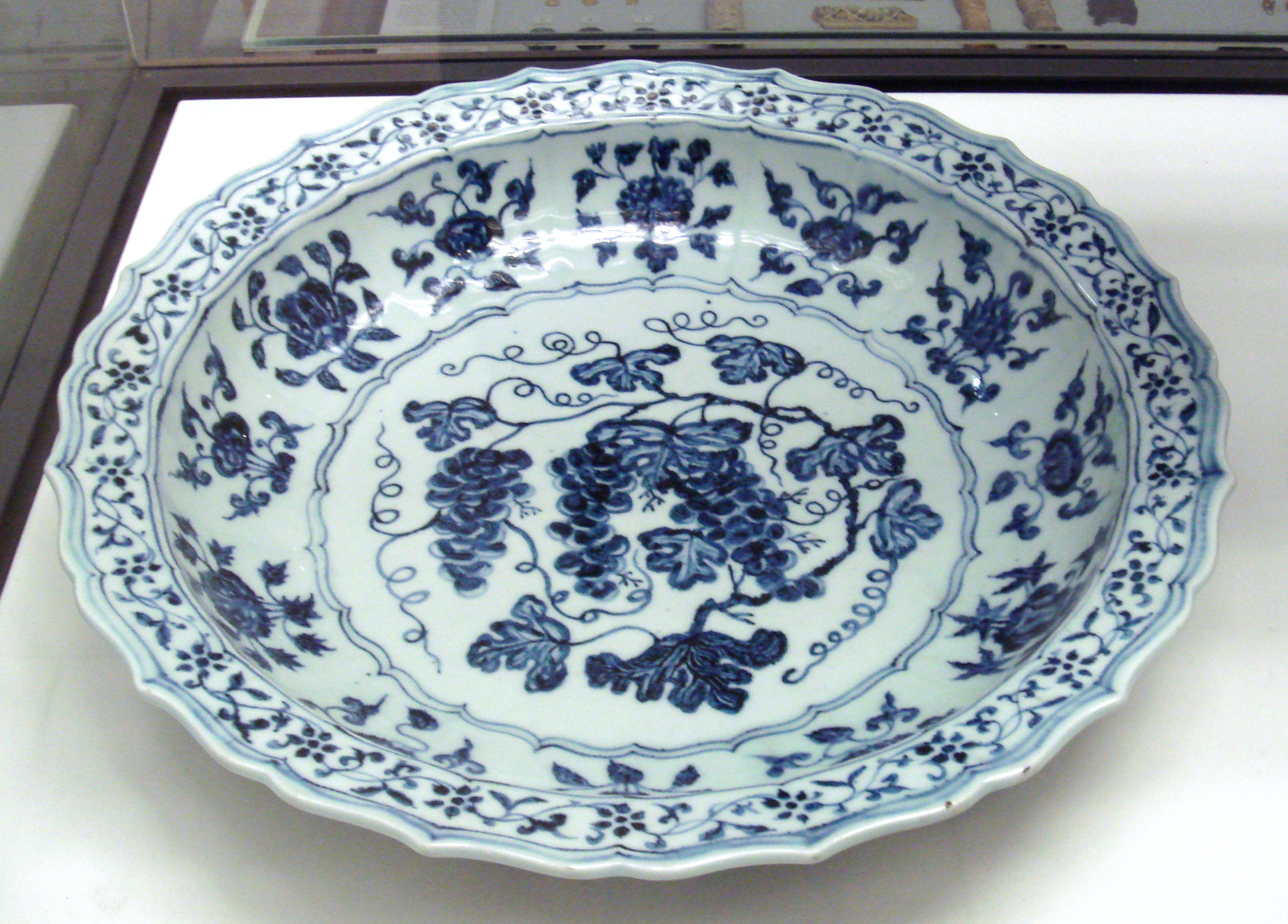 File Ming Plate 15th Century Jingdezhen Kilns Jiangxi Jpg