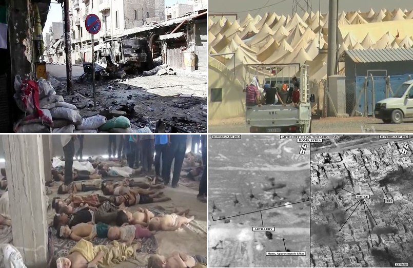 Montage of the Syrian Civil War.png