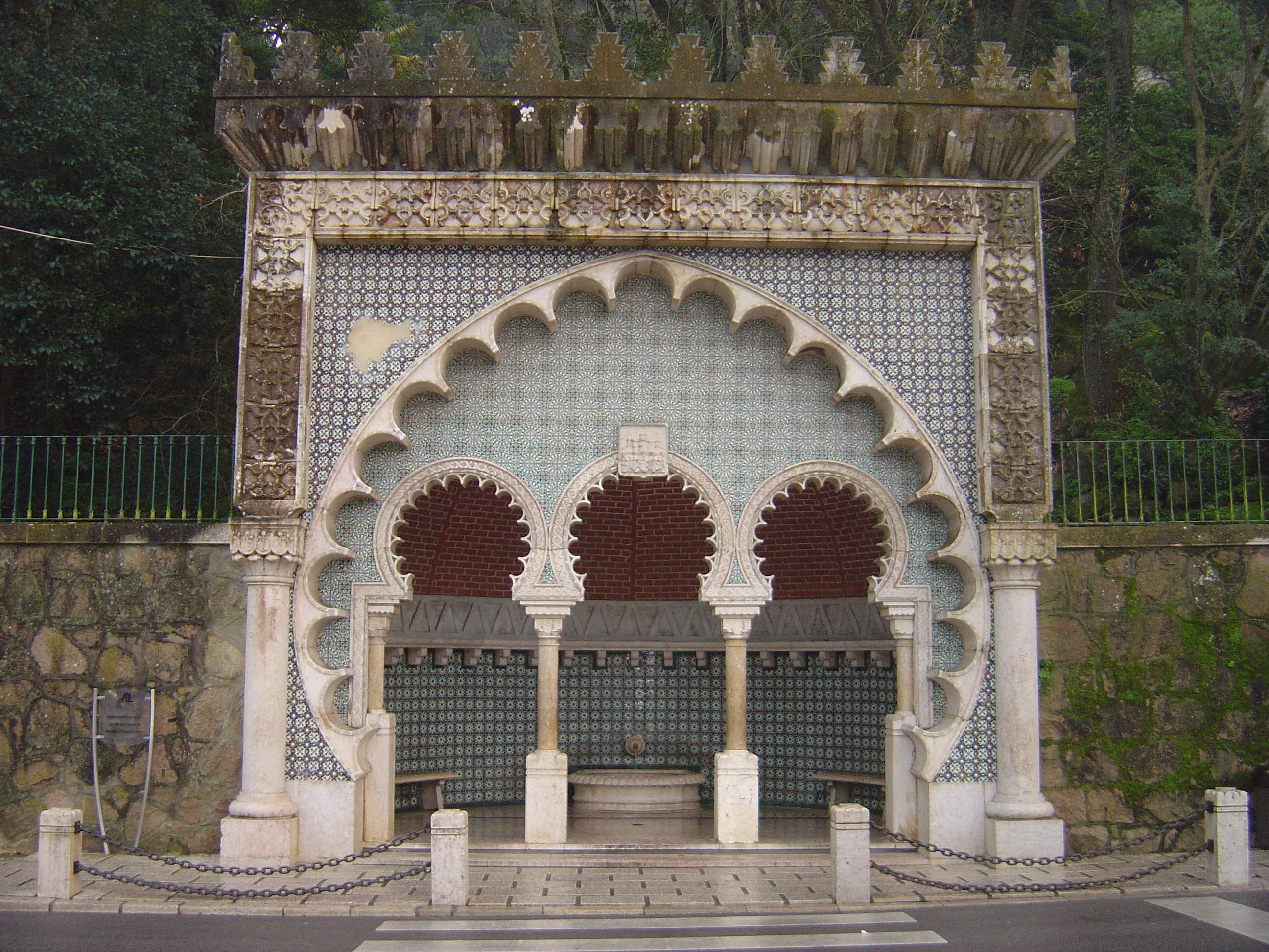 Description Moorish Fountain.JPG