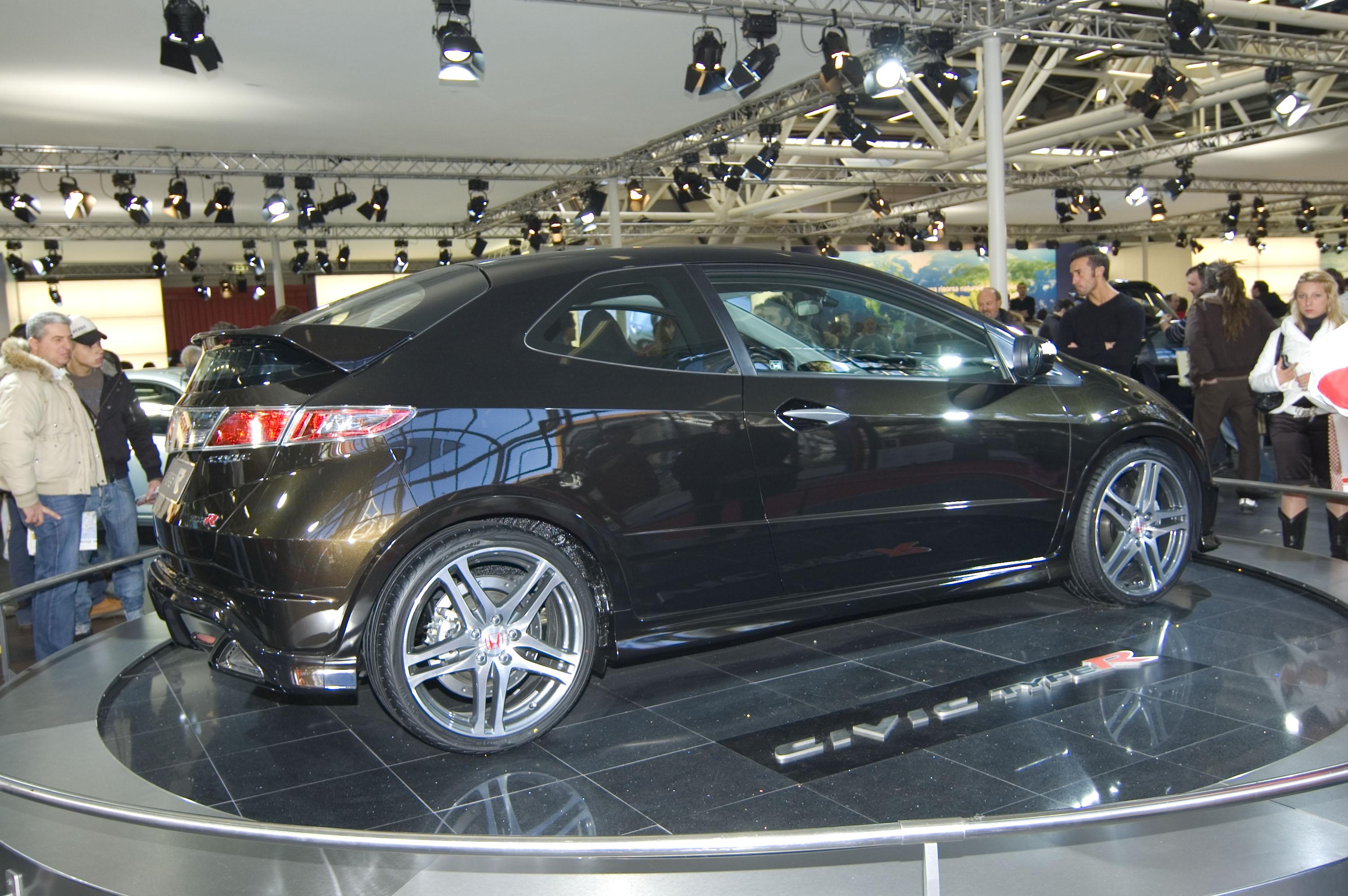 File:Motor Show 2007, Honda Civic TypeR - Flickr - Gaspa.jpg - Wikimedia Commons