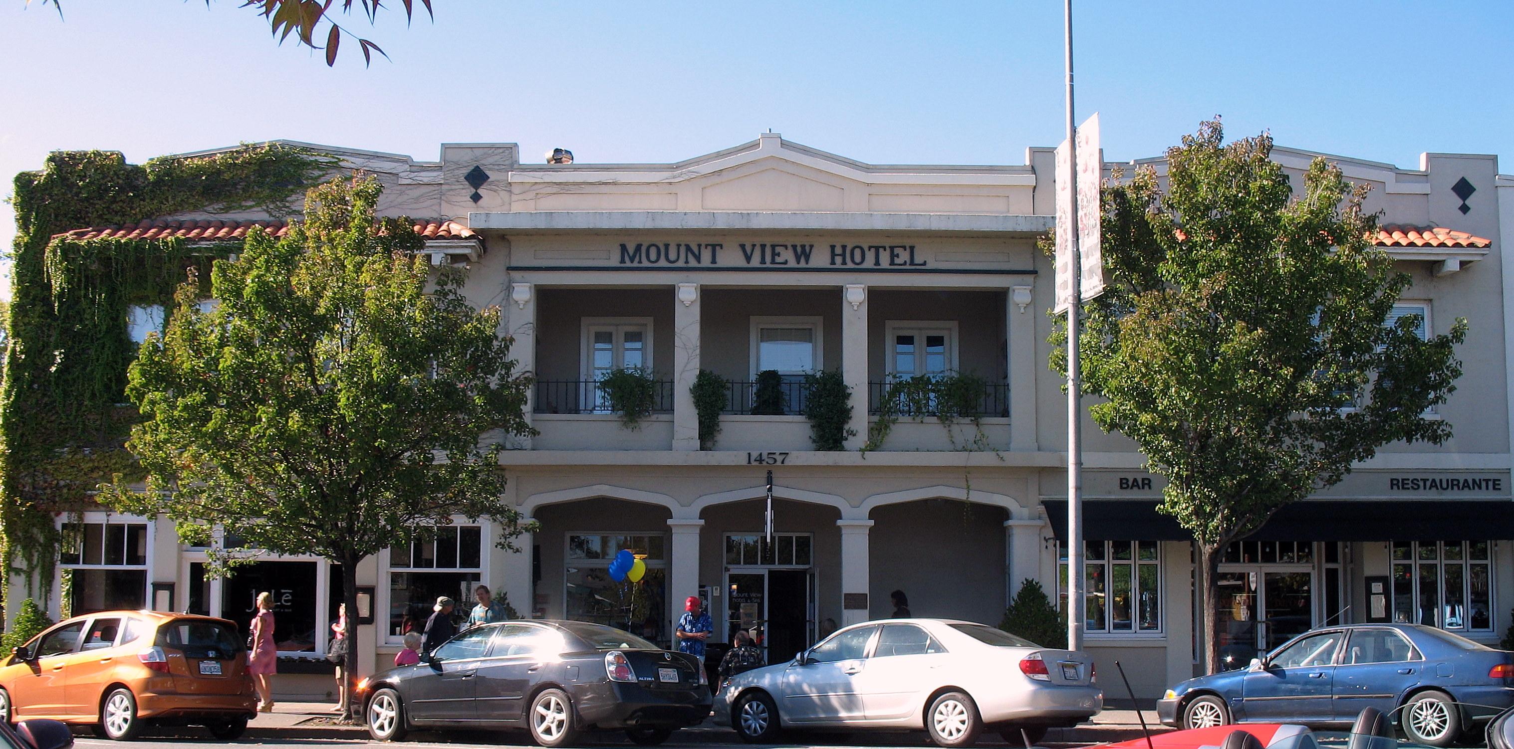 Mount View Hotel Restaurant Calistoga