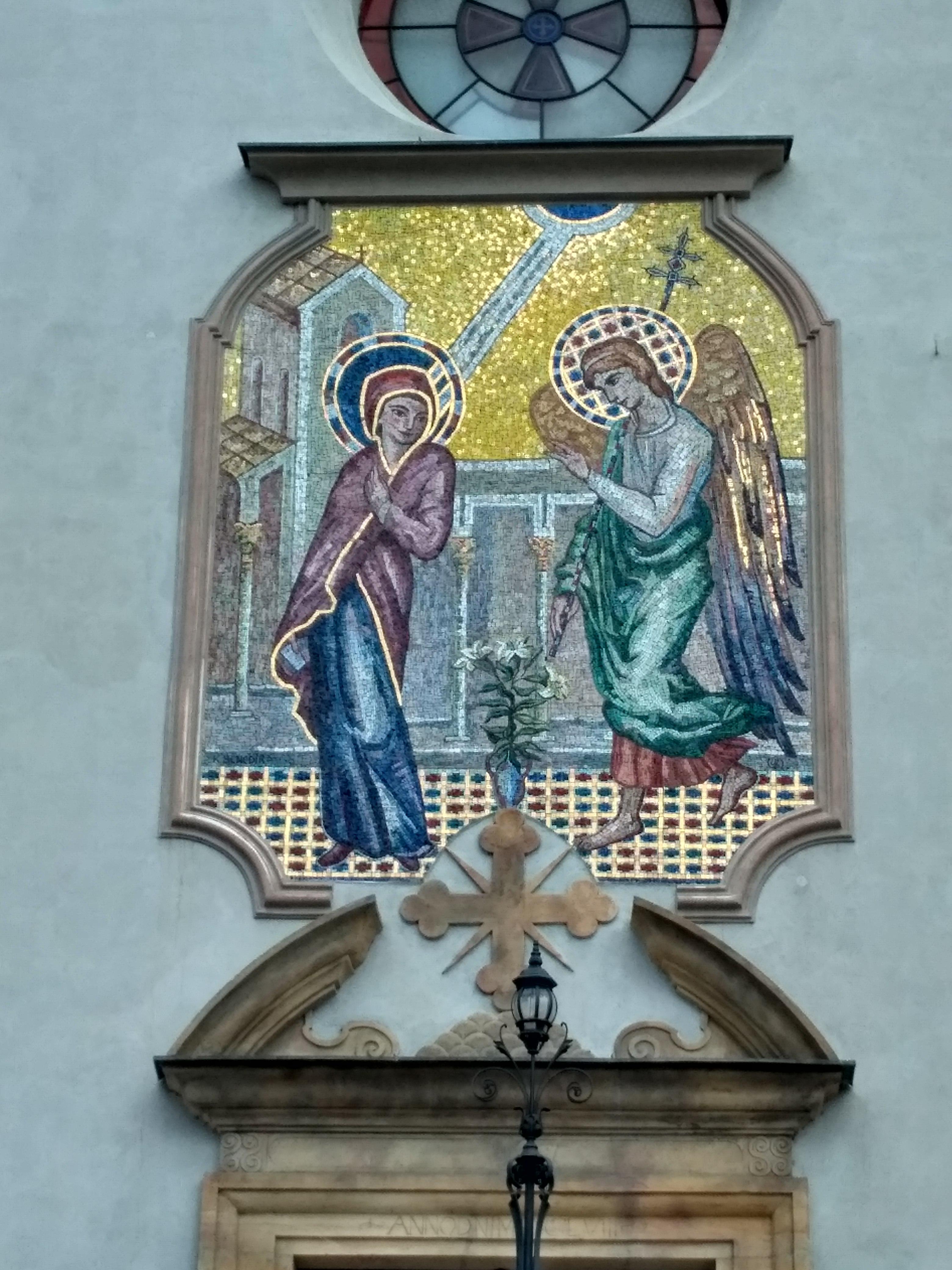 Soubor Mozaika Zvestovani Pane Olomouc Jpg Wikipedie