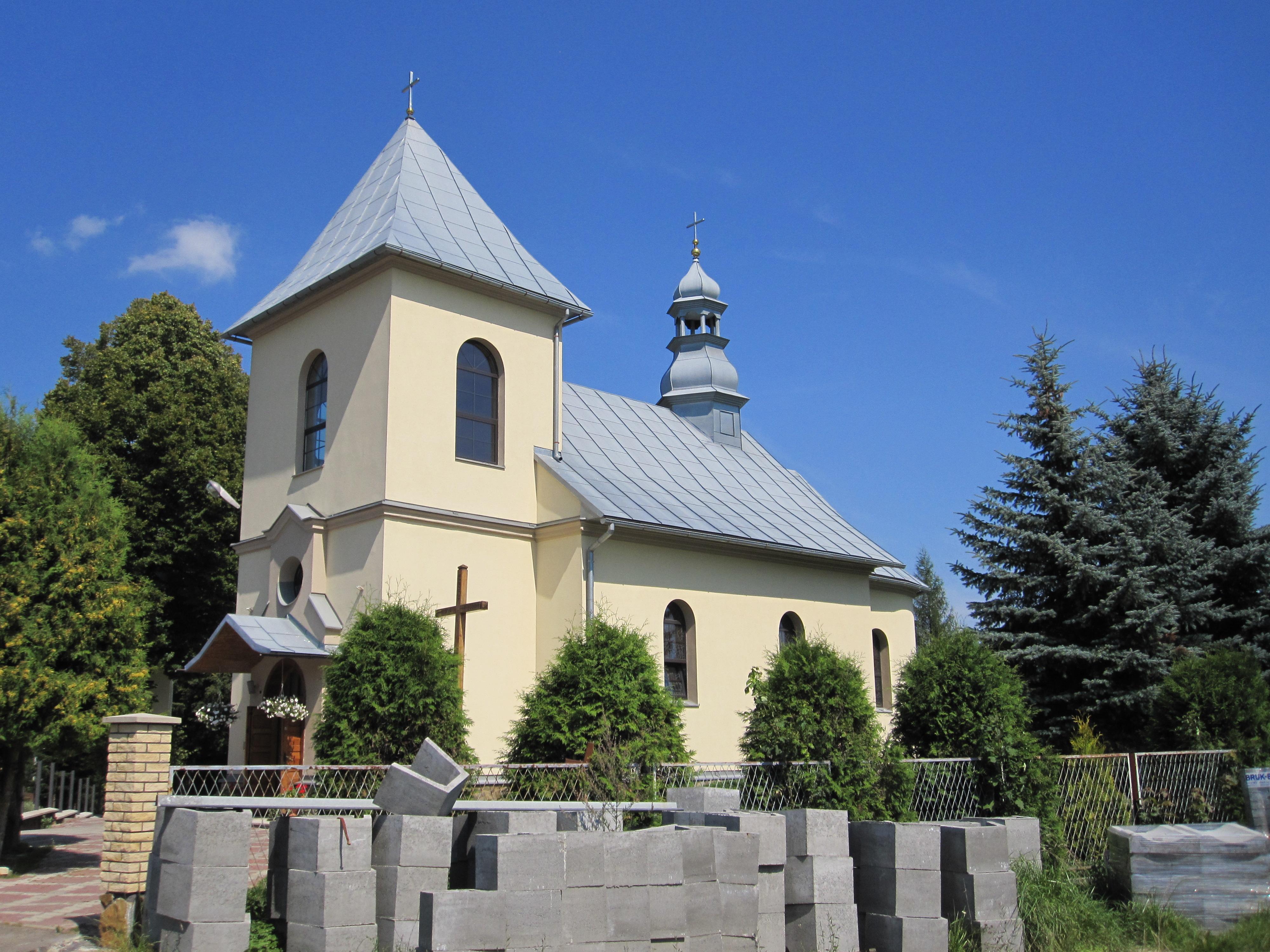 Rzymskokatolicki kościół parafialny pw. Matki Boskiej Nieustającej Pomocy w Myczkowie - dawna cerkiew greckokatolicka