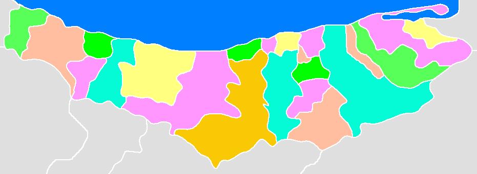 شهرستان میاندورود