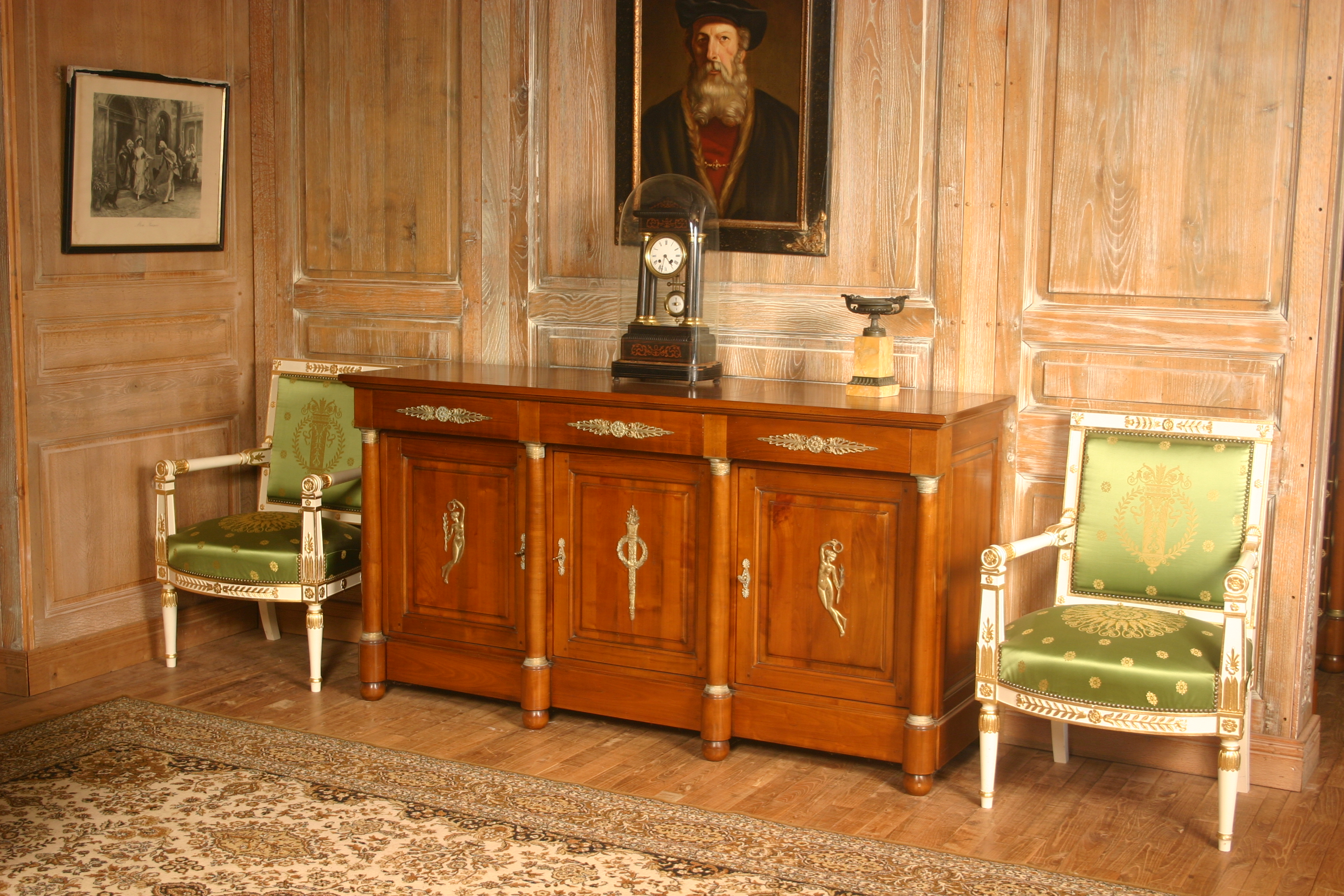 buffet enfilade but perfect art deco elegant buffet. Black Bedroom Furniture Sets. Home Design Ideas