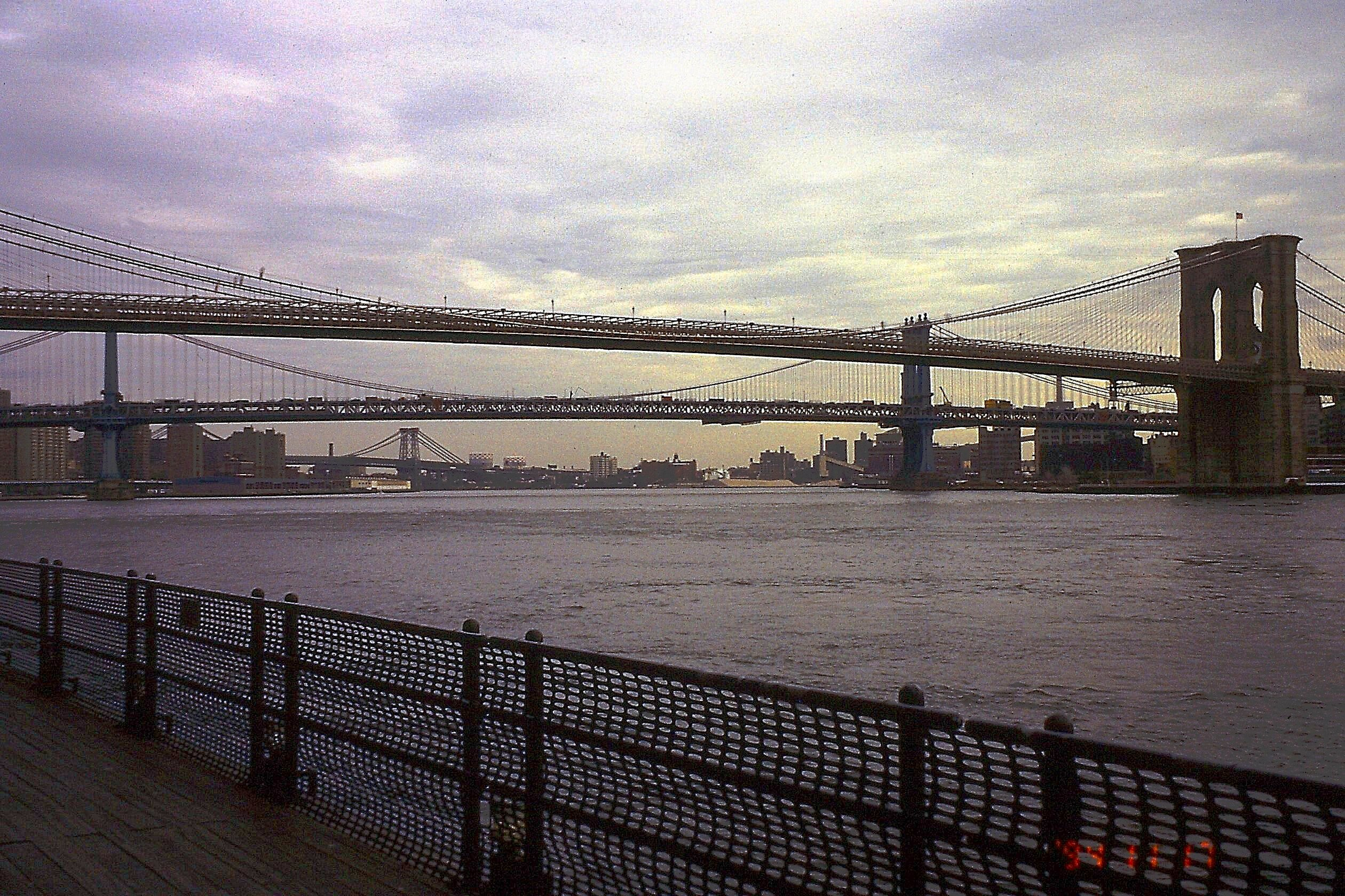 File New York East River Brooklyn Manhattan Bridge E Pict0026