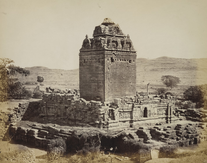 Old temple, general view from the north-west, Gop, Gujarat.jpg