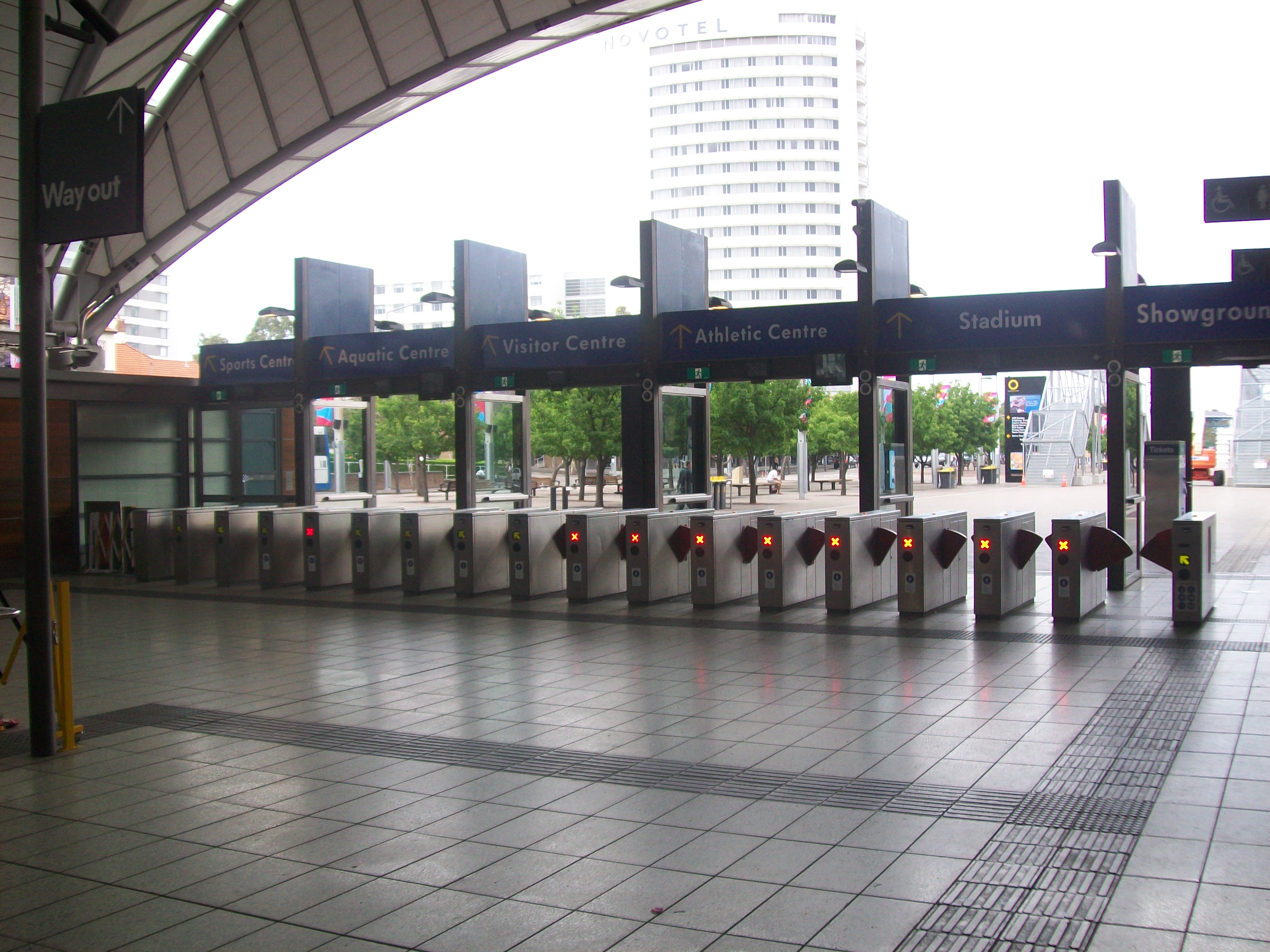 FileOlympic Park Railway Station Ticket Barriers