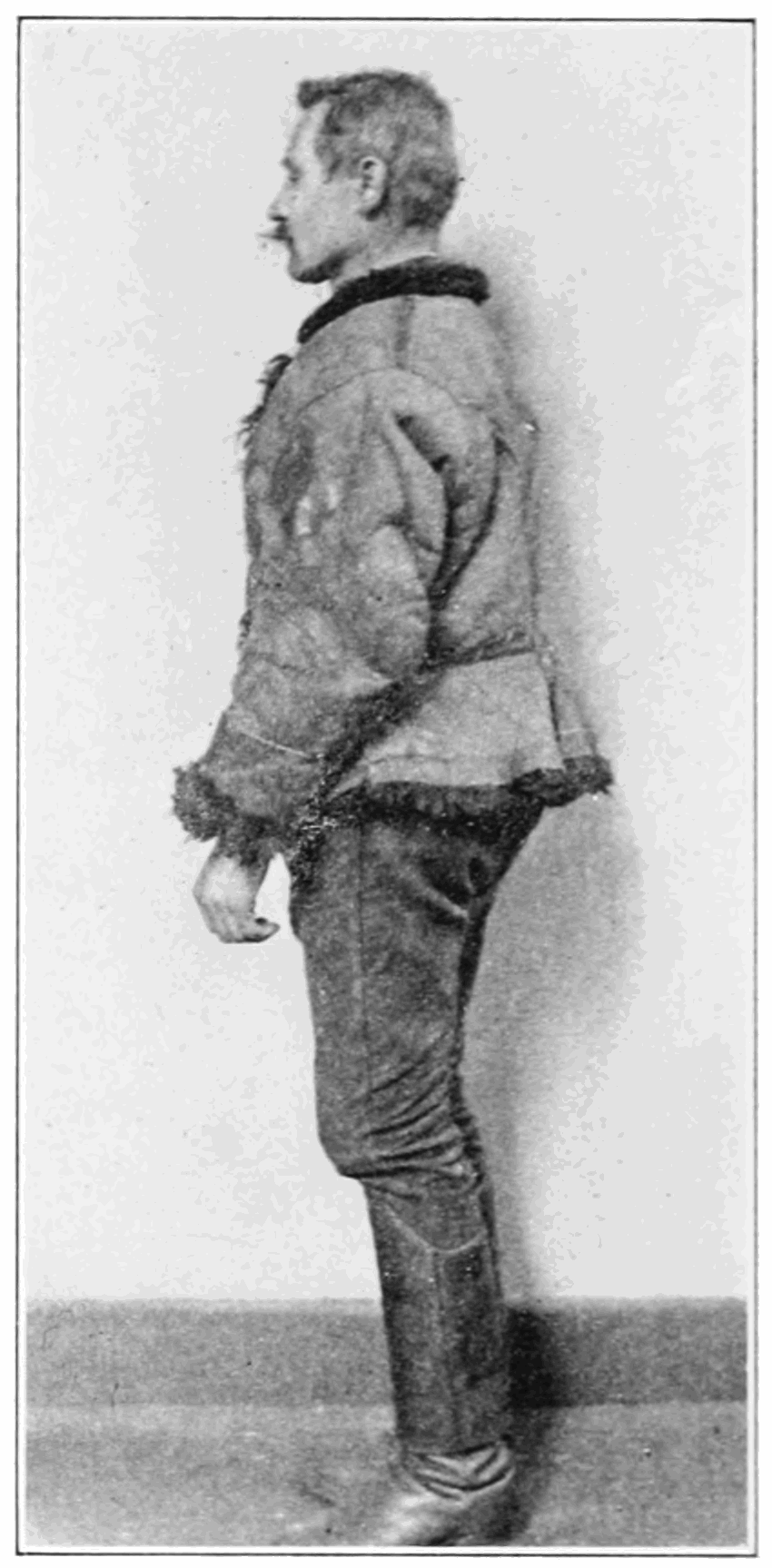 PSM V83 D332 Hungarian immigrant wearing short sheepskin coat.png