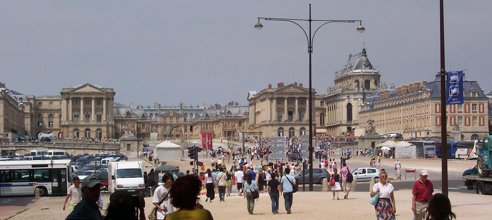 Palace of Versailles Front View