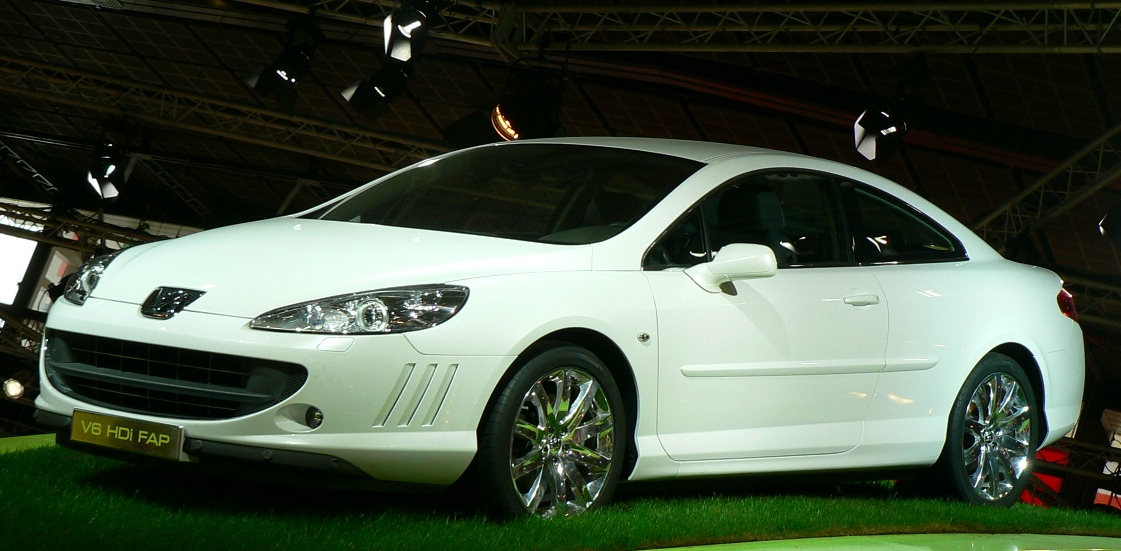 Peugeot 407 Coupe