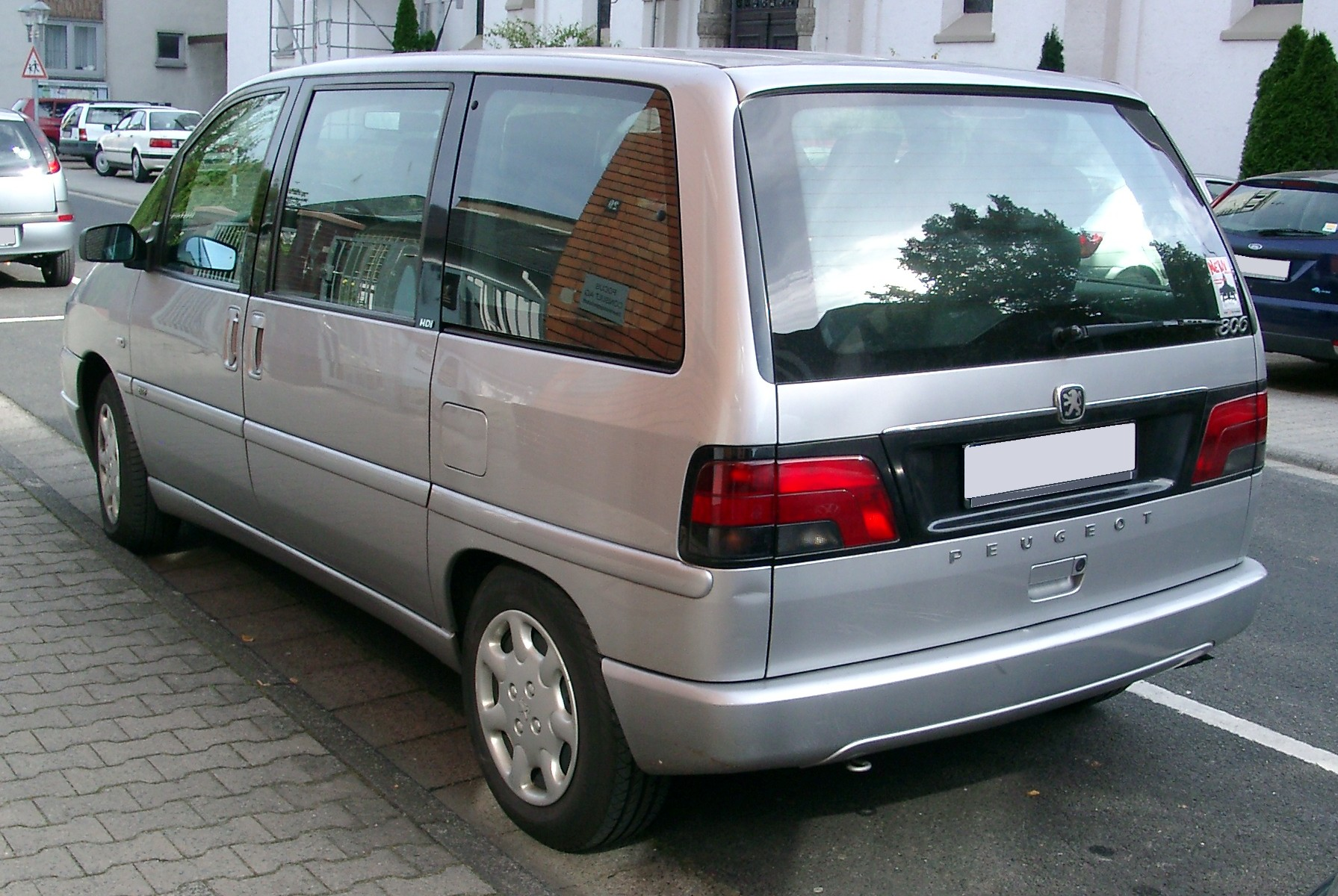 File peugeot 806 rear wikimedia commons for Interieur 806 peugeot