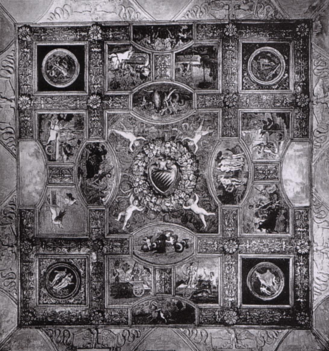 Descrizione Soffitto Di Villa San Barbaro