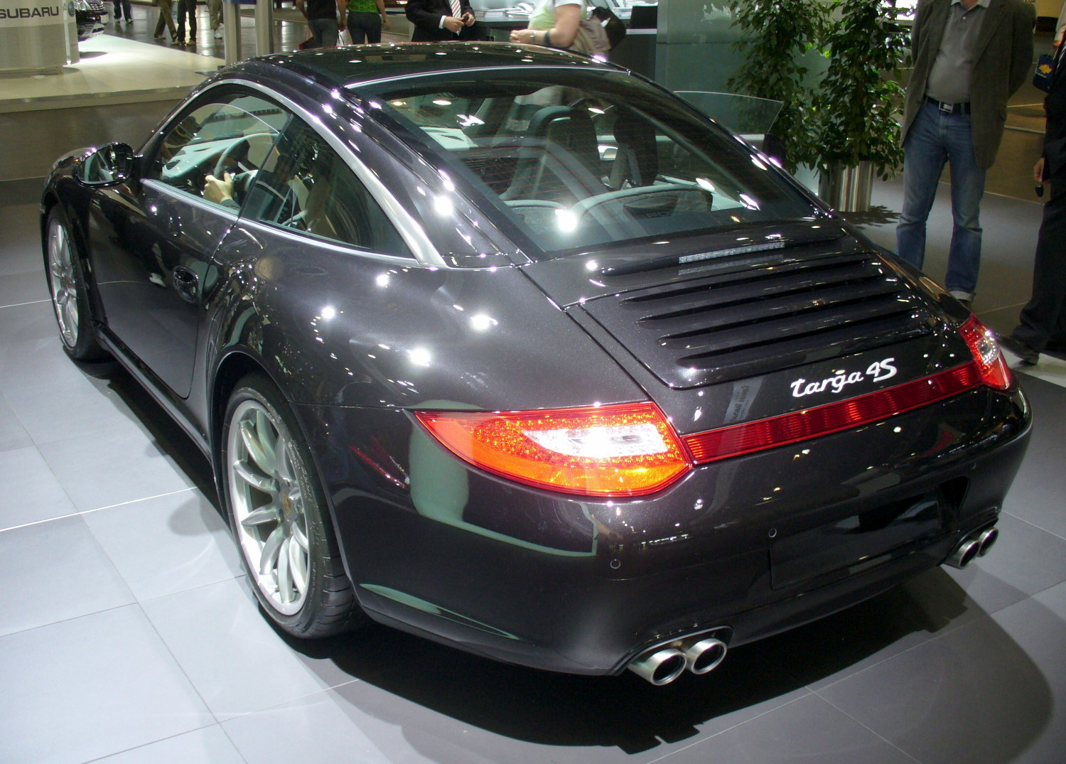 file porsche 911 targa 4s facelift heck jpg wikimedia commons. Black Bedroom Furniture Sets. Home Design Ideas