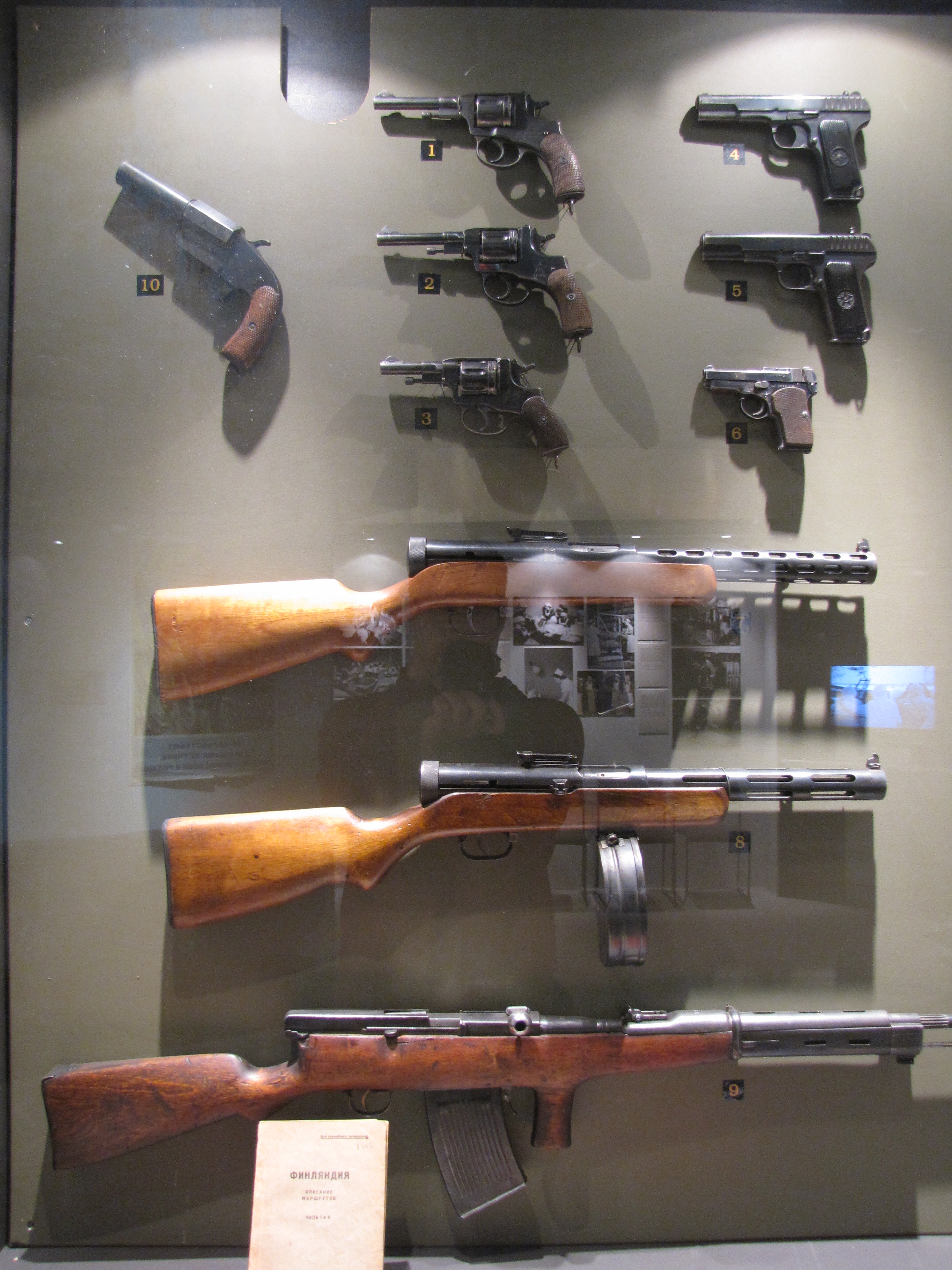 Description red army pistols and automatic weapons jpg