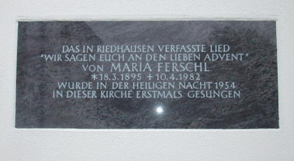 Fileriedhausen St Michael Tafel Wir Sagen Euch Anjpg