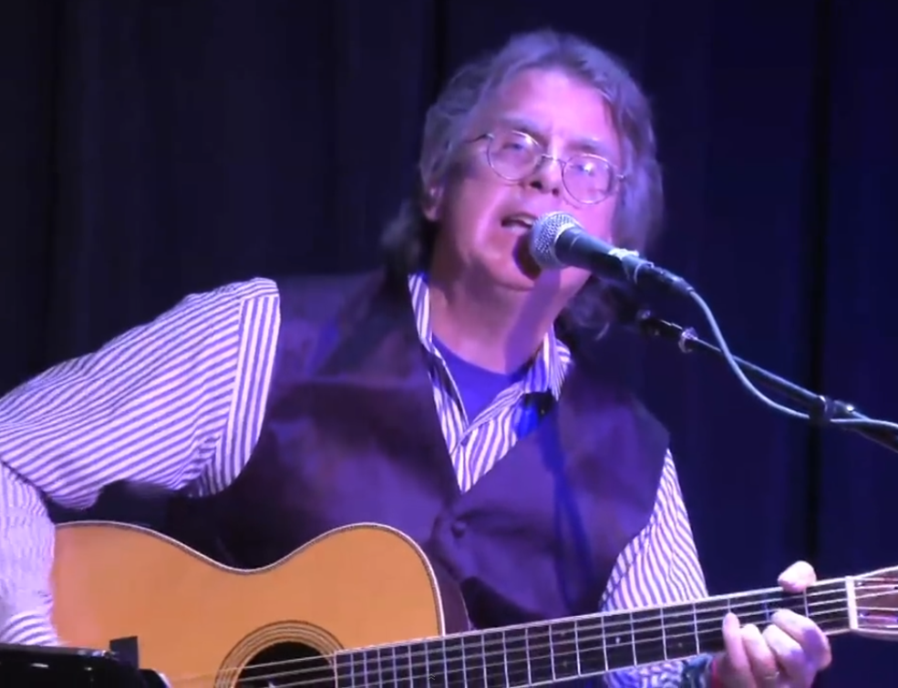 McNamee performing at his solo acoustic show at the Sweetwater Music Hall in Mill Valley, CA on 16 Sept. 2013.