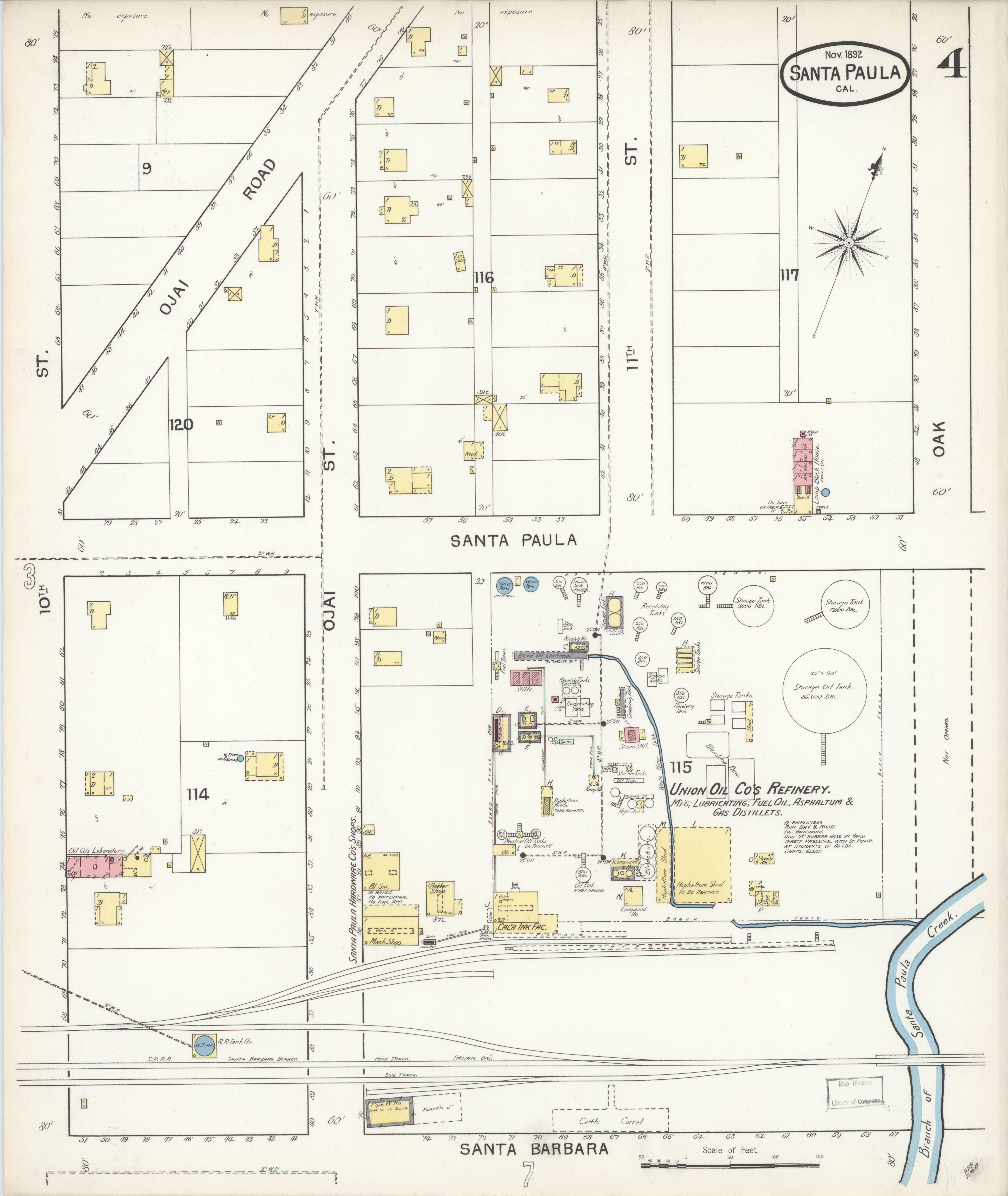 File Sanborn Fire Insurance Map From Santa Paula Ventura County