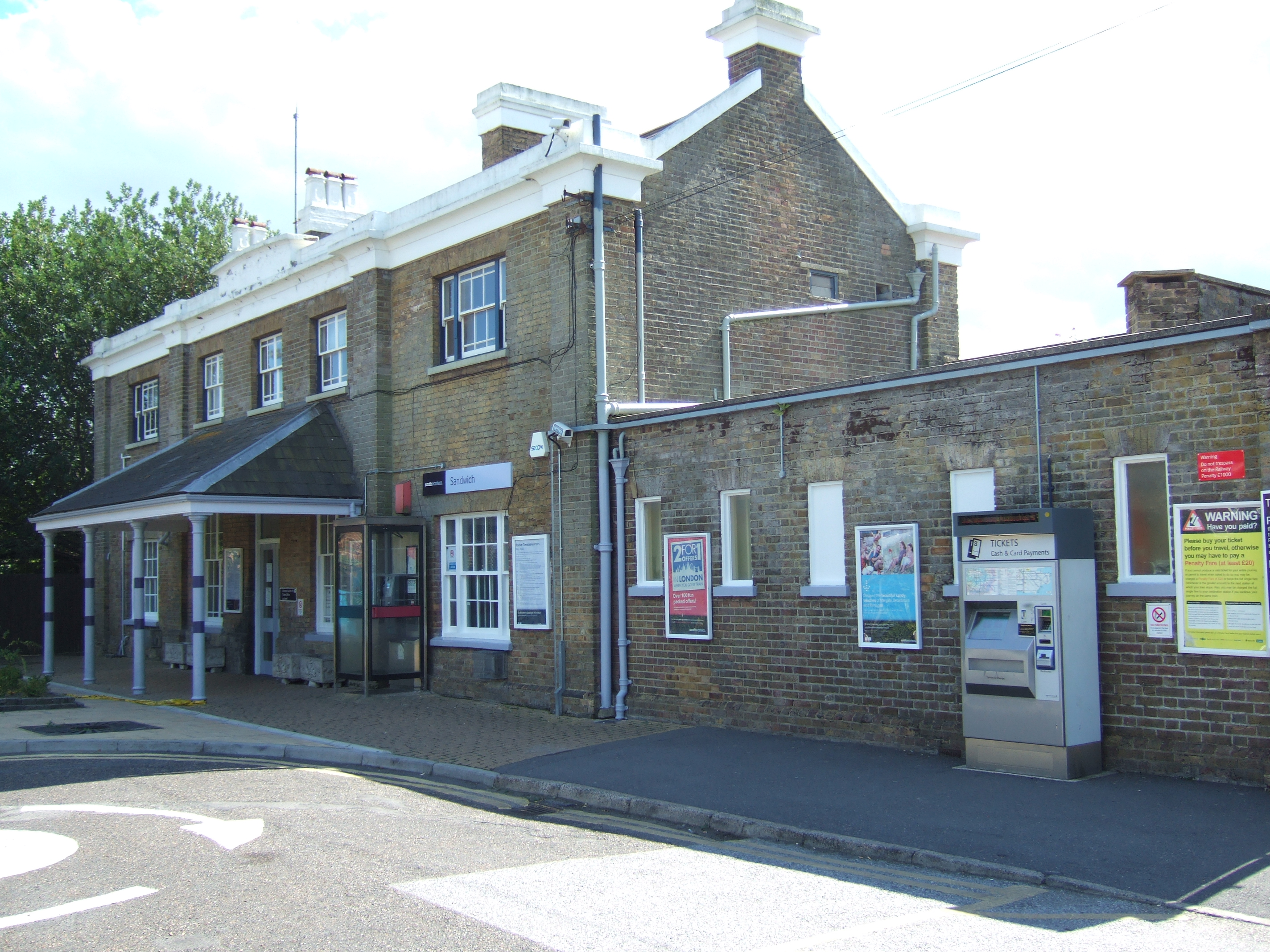 Station Building in 2008
