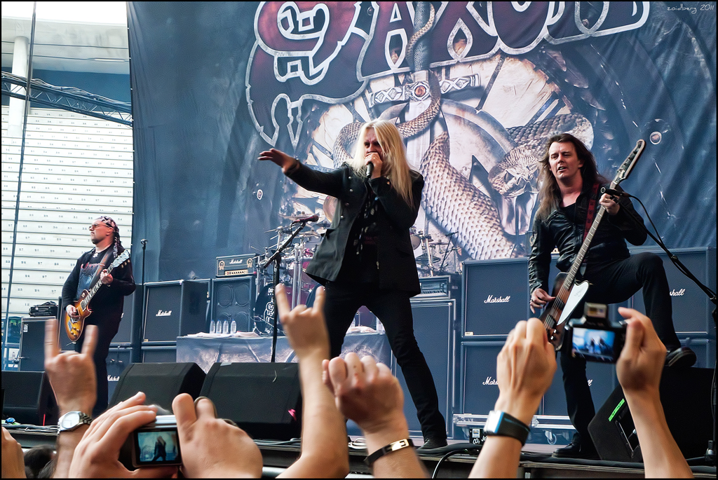 Saxon played a significant part of the New Wave of British Heavy Metal movement perhaps the greatest metal genre of them all and have become one of the alltime masters of heavy metal In doing so Saxon have ensured they are now representative of the heart and soul from the NWOBHM time